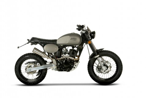Tracker 125cc - Motos custom france